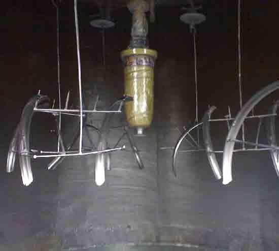欧米茄旋碟静电自动喷涂机